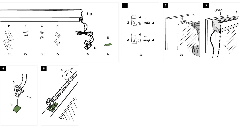 Montáž s vrtáním na okno